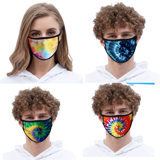 10pcs a lot Custom Adult/Kids Mouth Mask 3D Digital Printing LOGO mask Windproof Mouth-muffle bacteria proof Flu Face masks Care 4