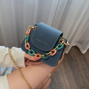 Fashion Colorful Acrylic Women Handbags