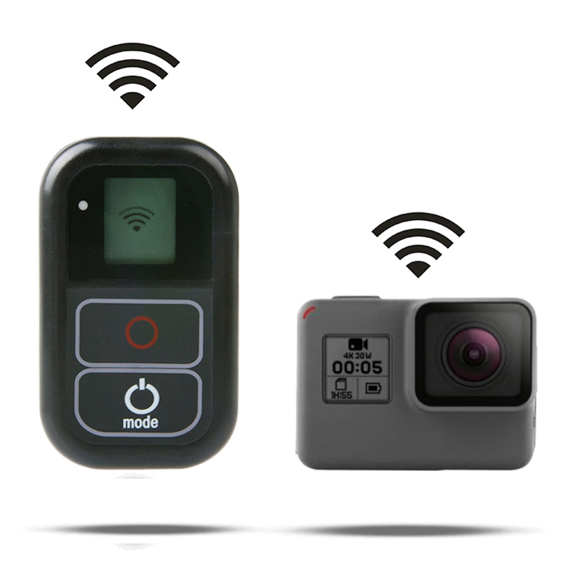 Waterproof Wireless WiFi <font><b>Remote</b></font> For <font><b>Gopro</b></font> <font><b>Hero</b></font> 8 7 <font><b>6</b></font> 5 4 Session Go pro 5 <font><b>6</b></font> 3+ <font><b>Smart</b></font> <font><b>Remote</b></font> Control Charging Cable Kits image