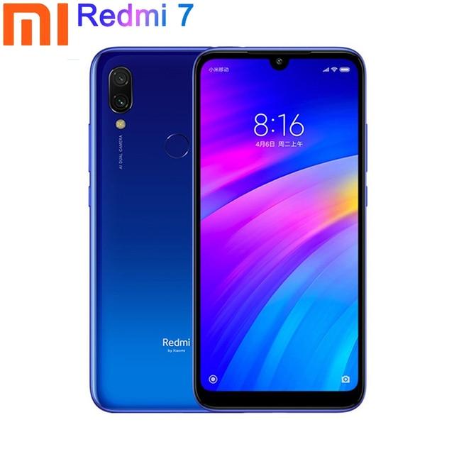 הגלובלי גרסת Xiaomi Redmi 7 6.26 אינץ Smartphone 3GB זיכרון RAM 32GB ROM Snapdragon 632 אוקטה Core 12MP + 8MP מצלמה 4000 mAh האיחוד האירופי Plug