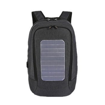 New Solar Backpack Men and Women Charging Casual Outdoor Bag USB Charger Emergency Backpack 1