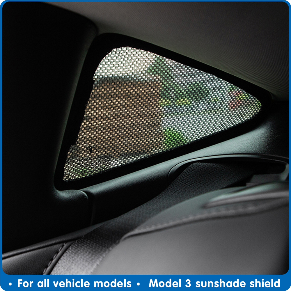 Para Tesla Model 3 tipo Auto parasol triángulo parasol Tesla model3 tipo parasol escudo accesorios techo sombrilla modelo tres Luz Nocturna inteligente PIR inalámbrica 8 LED Auto gabinete pasillo detección de movimiento lámpara Sensor de movimiento luz nocturna batería