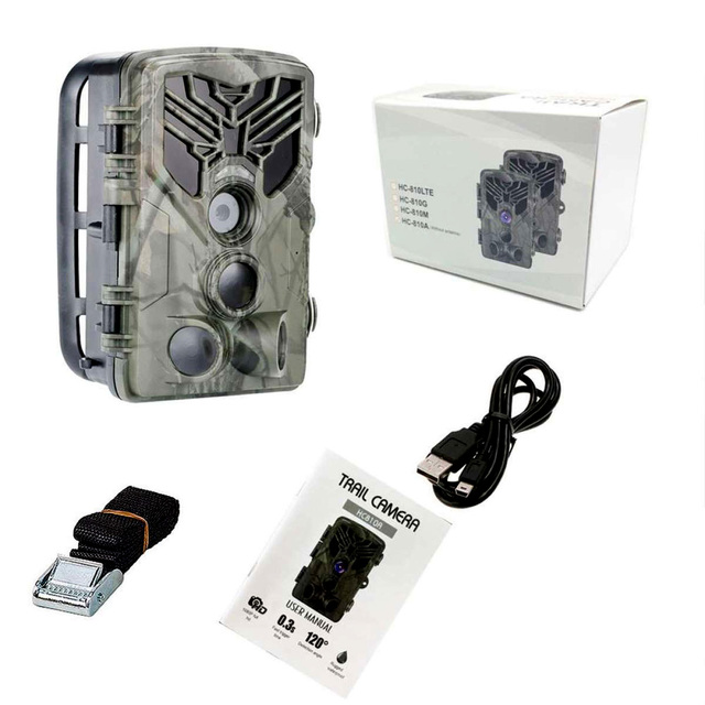 HC-810A 1080P 20MP HD Hunting Wildlife Camera Scouting Trail Camera Wildview 3 PIR Motion Night Vision Camera Home Safe Cam