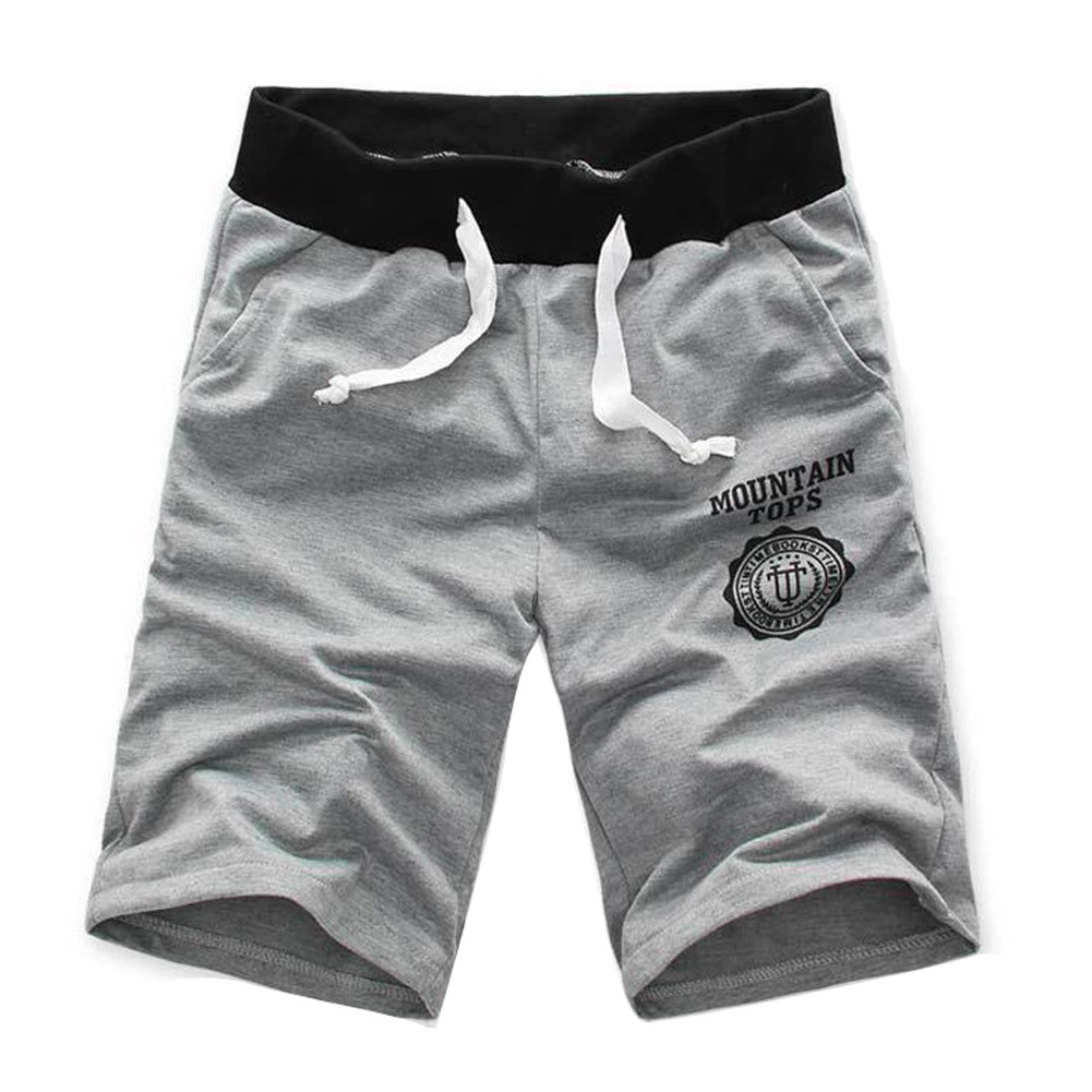 Pant Men Shorts Half Beach-Printing Cotton Breathable for Outdoor SAL99 Summer Casual title=