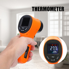 Non Contact Industrial Infrared IR Thermometer Handheld Digital Temperature Measurement MJJ88 free shipping fast measurement infrared industrial thermometer hand held non contact industrial body thermometer