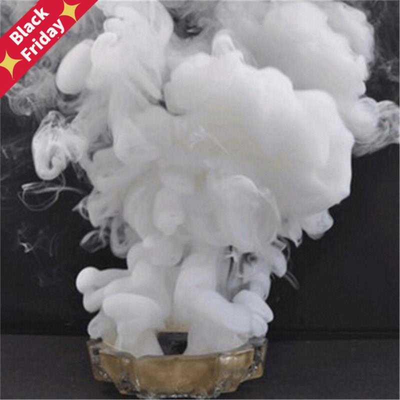 1/5PCS Portable White Smoke Pills Cake Halloween Props Performance Smoke Effect Photography Magic Tricks Pyrotechnics Scene Prop