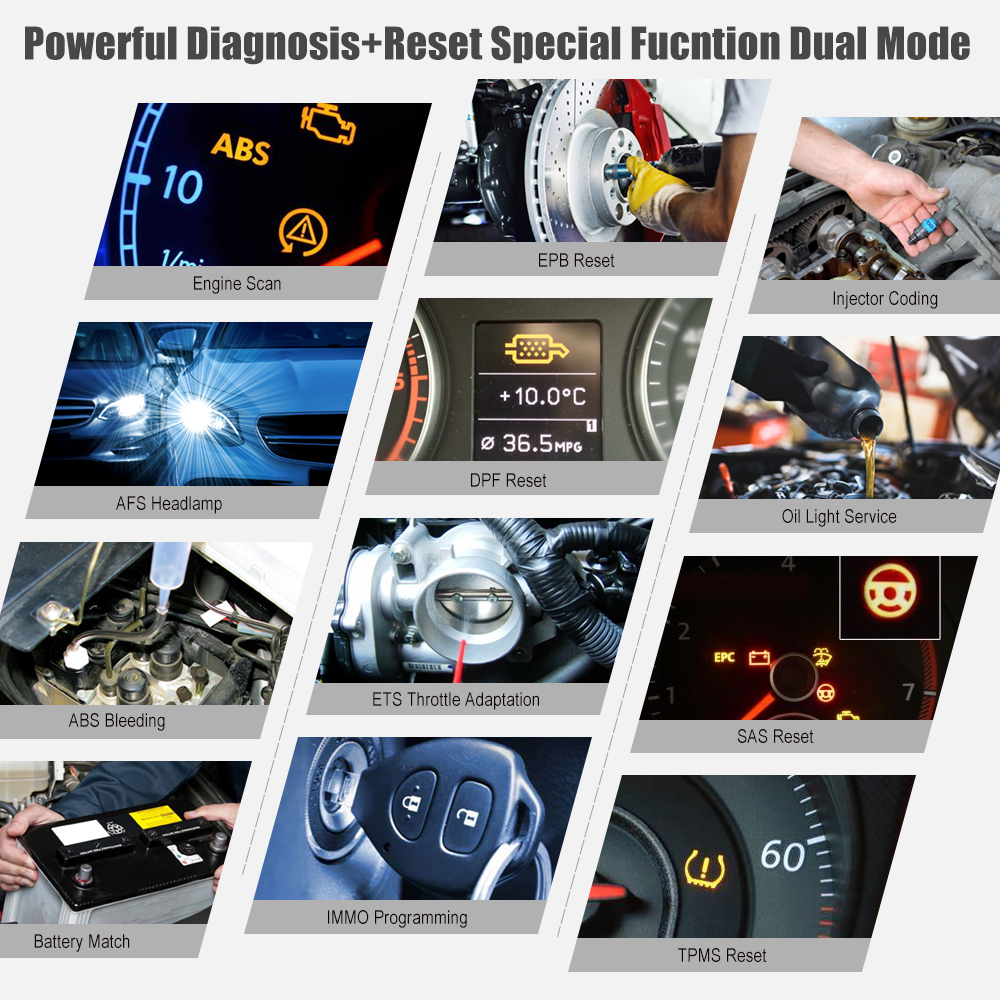 Image 2 - LAUNCH X431 Engine Code Reader CRP469 Car Diagnose Tool Oil ABS EPB DPF TPMS Reset OBD2 Scanner LAUNCH Diagnose Tool PK CRP429CCode Readers & Scan Tools   -
