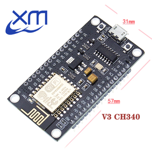 Image 3 - 10pcs/lot NodeMcu v3 Lua WIFI development board based on the ESP8266 Internet of things ESP12E CH340