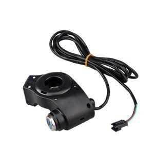 Image 4 - Elektrische Fahrzeug LCD Display Panel Daumen drossel Spannung Schlüssel Schalter Schloss mit Power Schalter für Elektrische Fahrrad/Roller/ebike