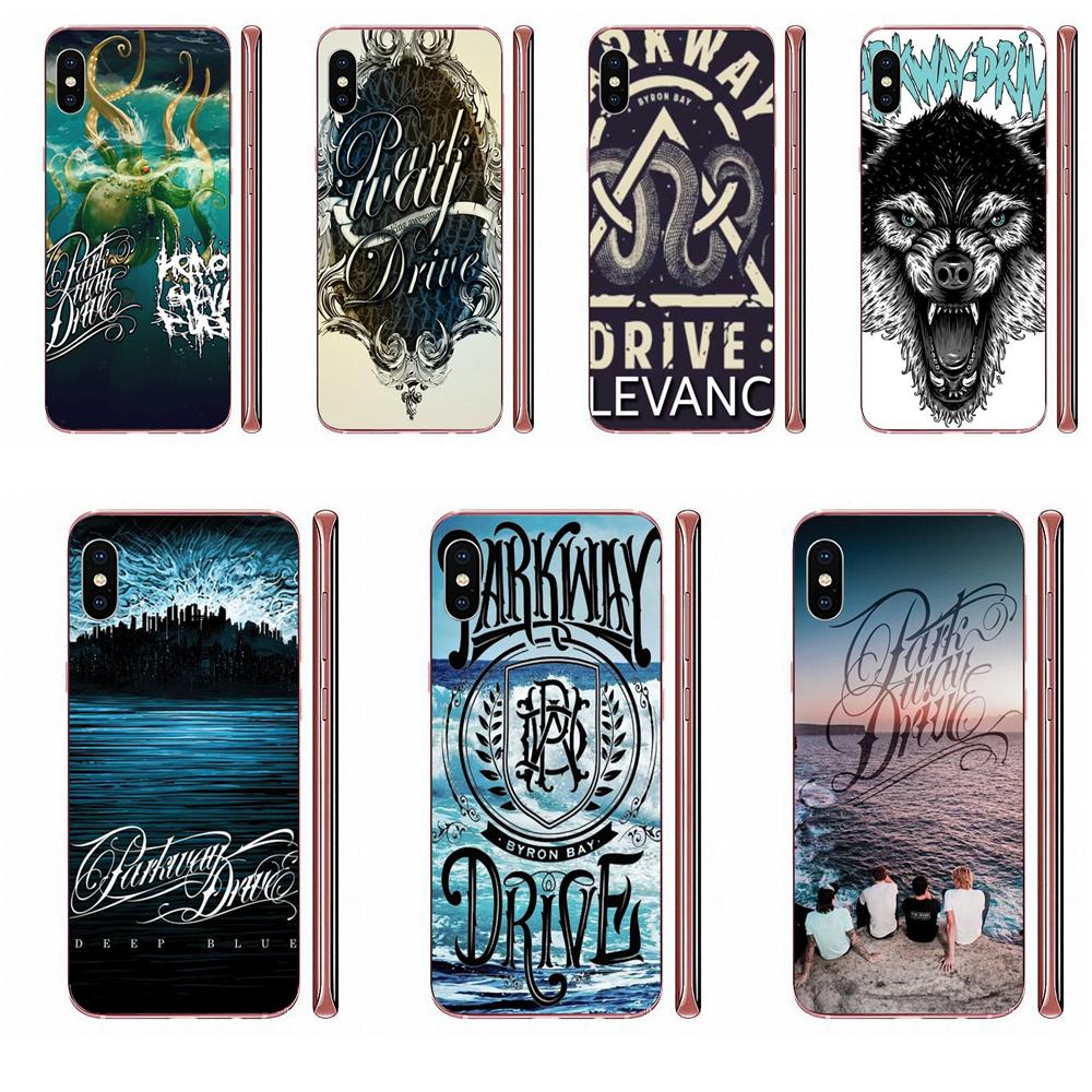 Parkway Drive Wolf For Apple <font><b>iPhone</b></font> 4 4S 5 5C <font><b>5S</b></font> SE SE2 6 6S 7 8 11 Plus Pro X XS Max XR Colorful Cute Phone Accessories <font><b>Case</b></font> image