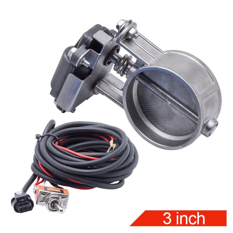 Электрический вытяжной Управление клапан электрический клапан с переключателем 2 & 2,36 & 2,5 & 3,0 дюймов отличные уплотняющие выхлопной Управление клапан Шумоглушители    АлиЭкспресс