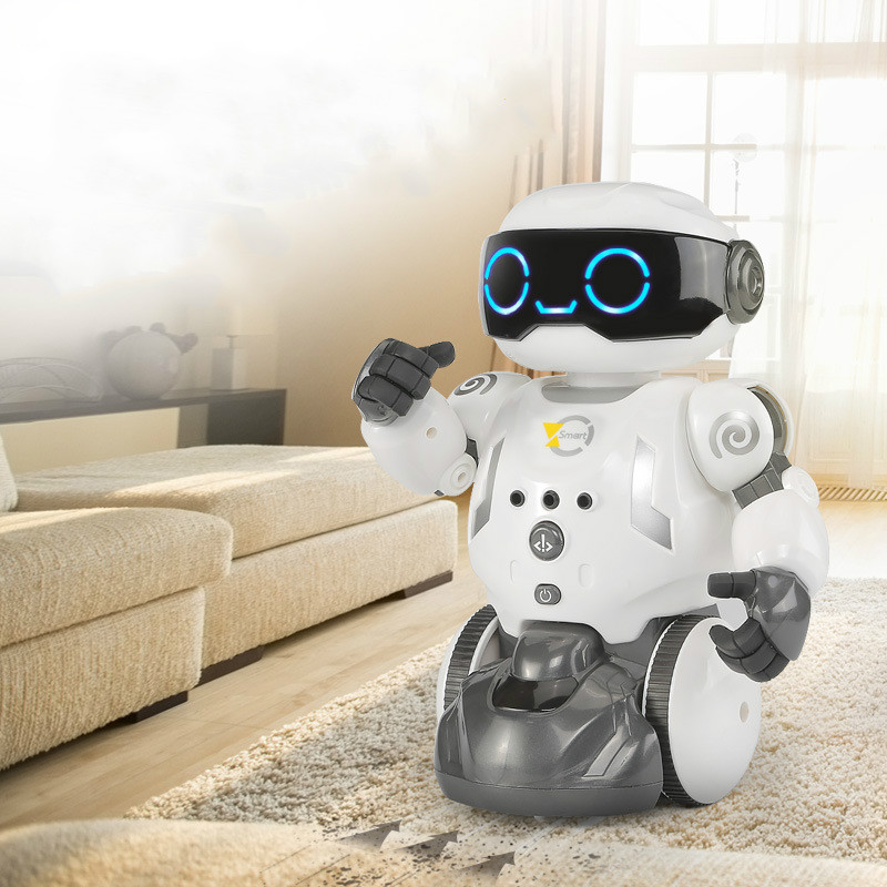 2019 Новый Интеллектуальный уборочный робот для уборки, маленький охранник, умный дом, игрушка с дистанционным управлением, программируемые игрушки, кодирующий робот