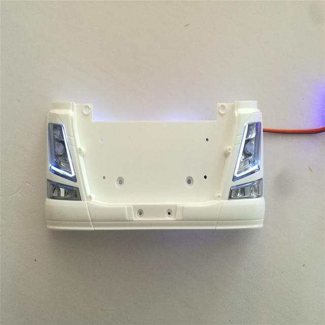 Ersatz LED Licht Lampe für 1:14 Tamiya Scania 56360 56323 Lkw Anhänger Volvo Tagfahrlicht RC Lkw Teile