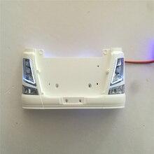 Lámpara de luz LED de repuesto para remolque de camión, luces de circulación diurna, Piezas de camiones de control remoto, para Tamiya Scania 1:14, 56360, 56323
