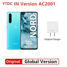 Globalna wersja w OnePlus Nord 5G Snapdragon 765G Smartphone 12GB 256GB 6.44 ''90Hz ekran AMOLED 48MP Quad Cams Warp Charge 30T