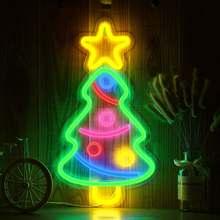 5 видов Бар неоновый светильник вечерние Висячие светодиодные
