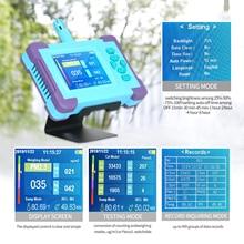 PM1.0/PM2.5/PM10 монитор качества воздуха цифровой анализатор газа портативный высокоточный датчик детектор воздуха домашний светодиодный дисплей