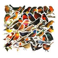 D3360 homegaga 40 шт милые наклейки с дизайном «Птицы» Скрапбукинг