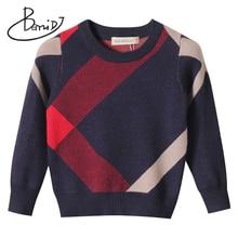 קרדיגן עבור בנות 2018 מותג עיצוב צמר כותנה סריגי חורף תינוק סוודר ילדי בגדי בני סוודר ילדי תינוק סוודר