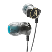 Kopfhörer QKZ DM7 Special Edition Gold Überzogene Gehäuse Headset Lärm Isolieren HD HiFi Kopfhörer audifonos Stereo BASS Metall DJ