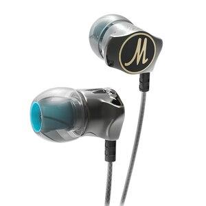 Image 1 - 이어폰 QKZ DM7 스페셜 에디션 골드 도금 하우징 헤드셋 소음 차단 HD HiFi 이어폰 audifonos 스테레오베이스 메탈 DJ