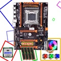 Скидка компьютерная материнская плата HUANANZHI X79 LGA2011 материнская плата с разъемом M.2 cpu Xeon E5 2658 V2 с кулером ram 64G (4*16G) 1866