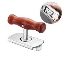 Airldianer spin manual ajustável de aço inoxidável fácil pode jar abridor 1-4 polegadas tampa tampa garrafa abridores ferramenta gadgets cozinha 1pc
