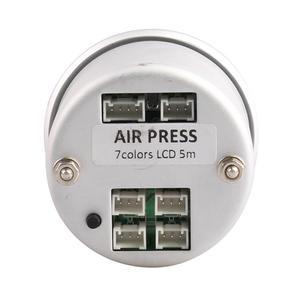Image 2 - 車の空気サスペンションゲージ 7 色 20Bar 290PSI空気圧ブーストエアゲージと 5 個 1/8NPT電気センサレース