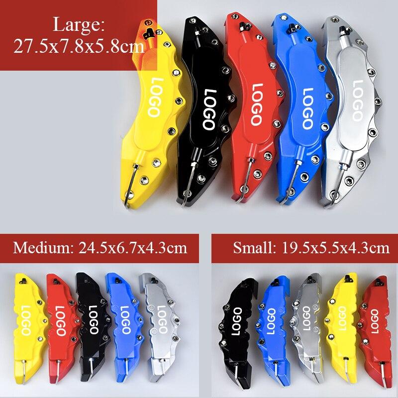 2 шт. S/M/L Размер ABS автомобильный 3D дисковый тормозной суппорт крышка автомобильный Стайлинг для AUDI A3 S3 A4 A5 S5 A6 S6 A7 S7 A8L Q7 TT TTS A1 S8 Q2|Наклейки на автомобиль|   | АлиЭкспресс