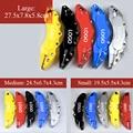 2 шт. S/M/L Размер ABS автомобильный 3D дисковый тормозной суппорт крышка автомобильный Стайлинг для AUDI A3 S3 A4 A5 S5 A6 S6 A7 S7 A8L Q7 TT TTS A1 S8 Q2