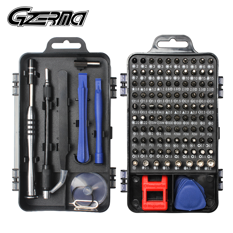 115 In 1 Precision Screwdriver Set Magnetic With 98 Bit Cell Phone Repair Tools Kit For IPhone PC Watch Electronics Mobile Phone