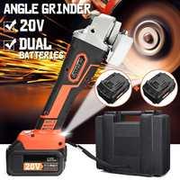 30000mAh Wireless Manual angle grinder 110V 220V Cordless Brushless Electric Grinding Li ion Battery Cutting Machine