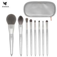 Anada 8 шт набор кистей для макияжа косметическая пудра тени