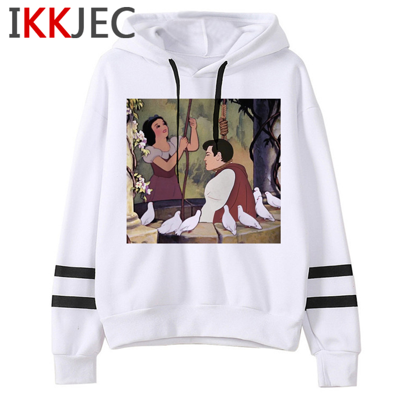 Aesthetic Harajuku Funny Cartoon Hoodies Women/men Grunge Princesses Vintage Sweatshirt 90s Graphic Fashion Hoody Female/male 2