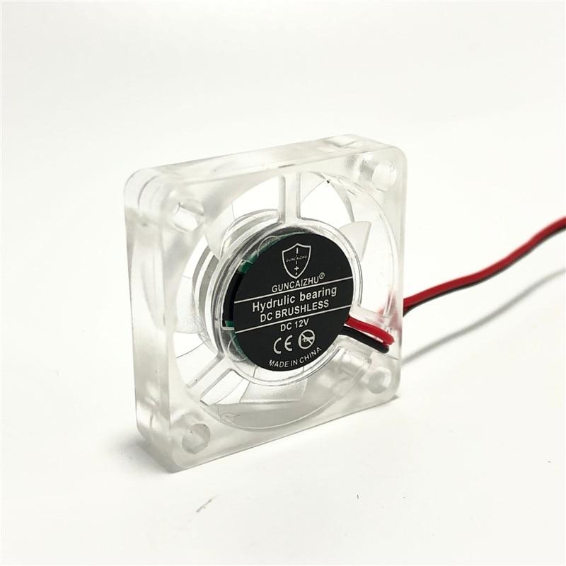 3007 3CM Brushless Transparent Cooling Fan 3.3V 12V 5V Cooler Mini CPU Fan For Graphics Card 3D Printer 30mm Fan 30x30x7MM