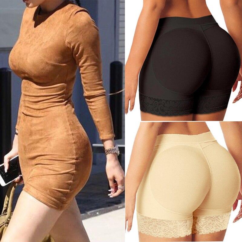 Butt Lifter Hip Pads Lace Body Shapers Women Shapewear Women  Push Up But Lift Shaper Sex Butt Pads Fake Ass Body Shaper Faja