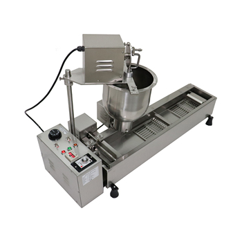 Single row automatic doughnut machine  Commercial Electric Single row automatic donut machine with 3  Donut Maker moulds yueding baked donut machine belshaw donut machine