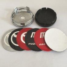 4 pçs 56mm 60mm centro da roda emblema do carro hub tampas emblema capas de roda etiqueta do carro estilo acessórios