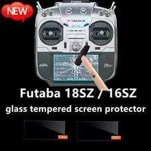 Защитное стекло FUTABA 18SZ 16SZ с радиусом, закаленное стекло для экрана, Радиоуправляемый пульт дистанционного управления, Радиоуправляемый чех...