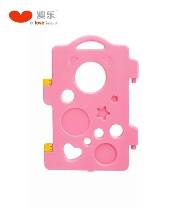 AOLE-HW Berjalan Beruang Monolitik Anak-anak Game Pagar Mainan Bayi Bayi Balita Merangkak Indoor Aman Kisi Pelindung