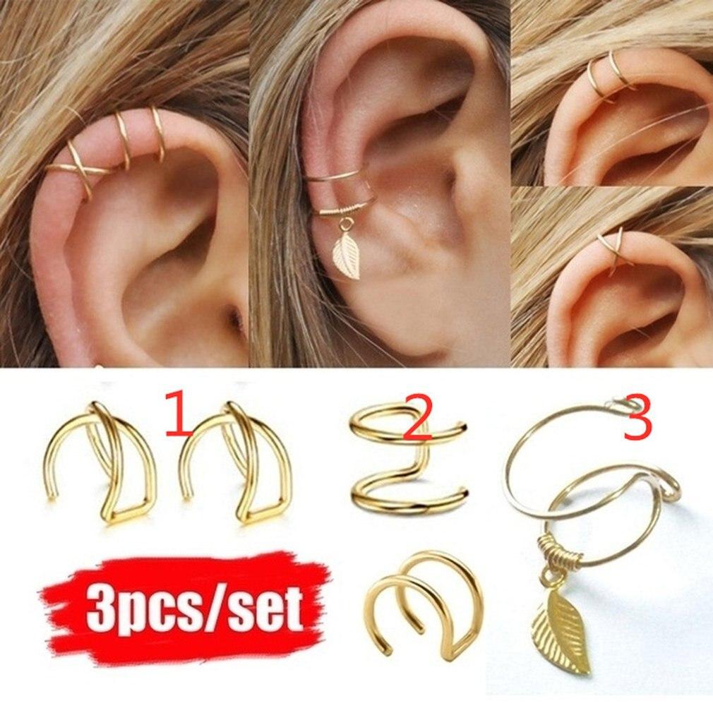 Pierced Ears Earrings Nose Clip Lip