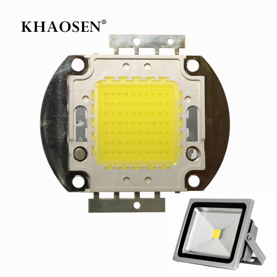 Copper Or Aluminum Bracket LED COB Chip Beads 10W 20W 30W 50W 70W 100W Smart IC DC 12V 36V Integrated High Power LED Module