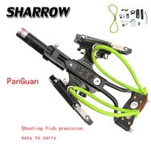 1 Set Archery High Precision Fishing Slingshot  Shooting Fish Artifact Professional Novice Hunting Shooting Accessories