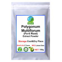 Polygonum Multiflorum Thunb Fo-ti Powder Extract 30:1,He Shou Wu Extract Powder for Promoting Hair Growth