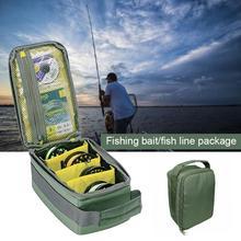 Fishing Gear Bag Convenient Durable Oxford Cloth Green Organ