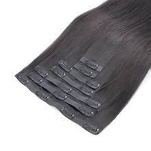 Nahtlose PU Clip in Menschliches Haar Extensions 14-22 inch Haar Gerade Invisible Dicken Echt Haar Extensions Mit PU clips 7PC 150G