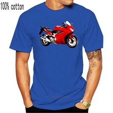 Camisa Hon. Vfr 800f 2014 gr. Camiseta nova 2019 hip hop t camisa masculina roupas de marca moda t