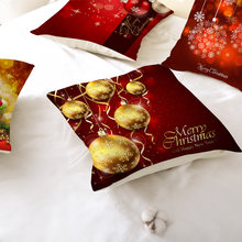Рождественская наволочка Современный домашний декор чехол Осенний