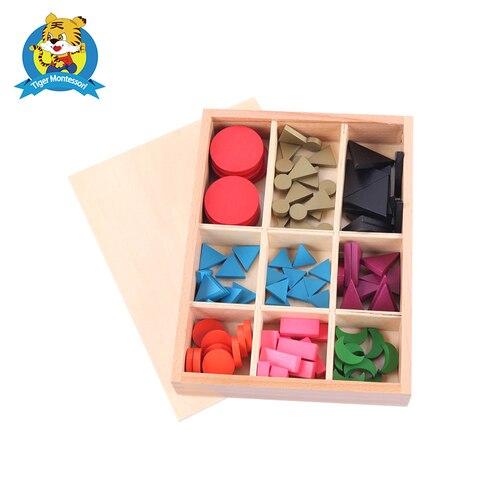 simbolos basicos da gramatica de madeira de montessori com brinquedo da
