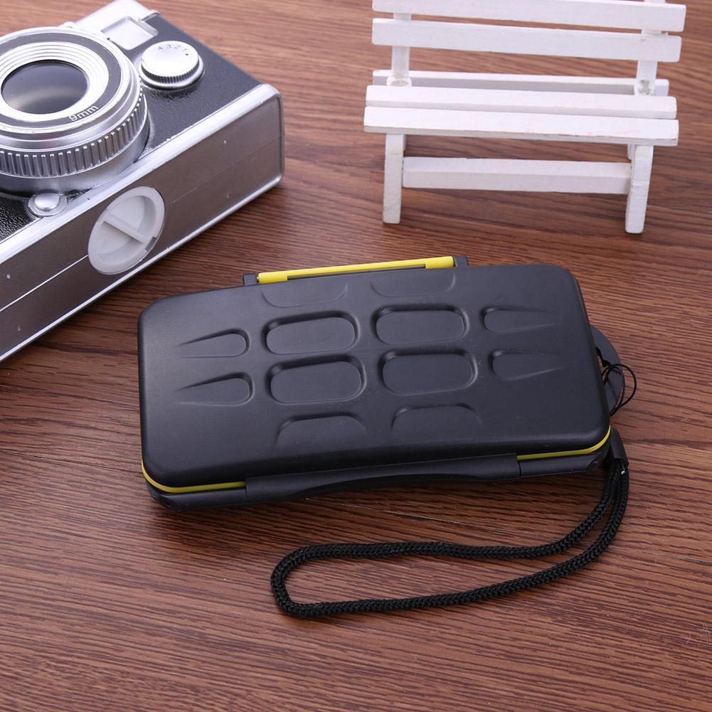 Multi-grid Large Capacity Waterproof Storage Saving Deposit Card Box Holder Shock-proof Memory Cards Case 153x90x20mm 4